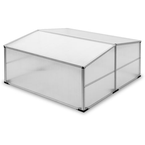 Cold Frame Greenhouse Tomato Bed Sowing 110 x 110 cm M6