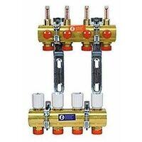 Colector premontado con medidor de caudal Giacomini R553F