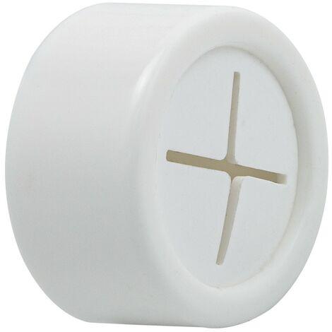 Colgador adhesivo cocina blanco Ø 40 mm.