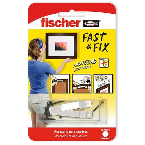 Colgador Cuadros Rectos 10 Piezas - FISCHER - 534845