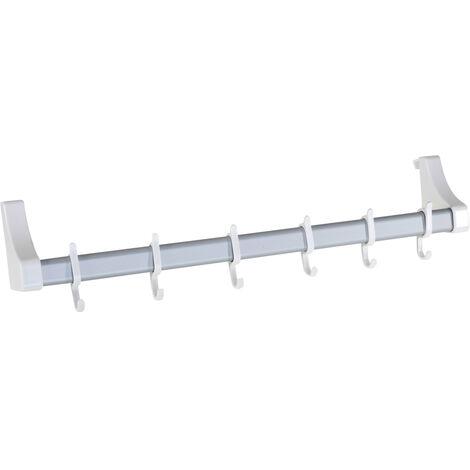 Colgador de aluminio para puertas blanco WENKO