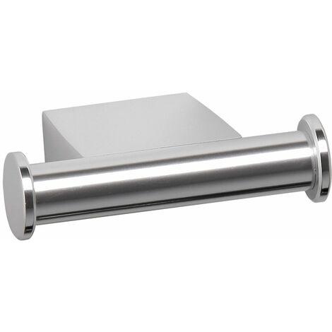 Colgador doble TATAY, de aluminio y diseño moderno y elegante. Sistema de fijación con tornillos