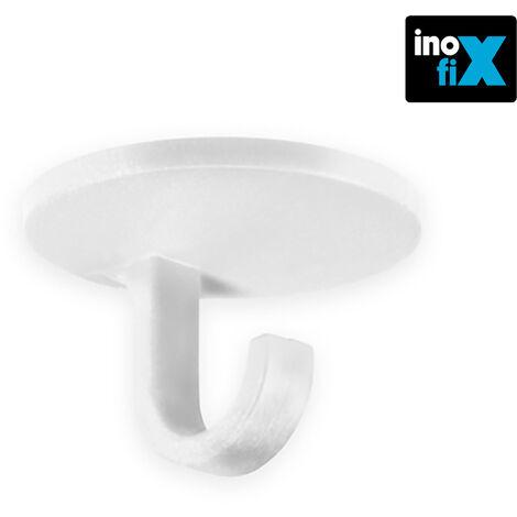 Colgador gancho adhesivo blanco (blister 4 unid) inofix EDM 66583