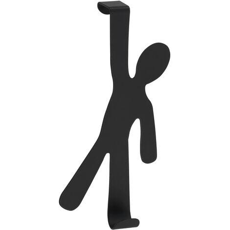 Colgador sobrepuerta Boy negro WENKO