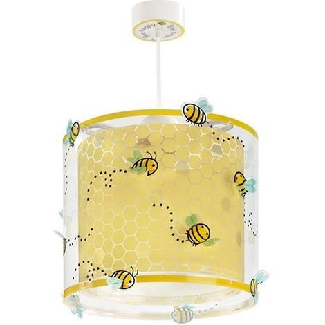 COLGANTE BEE HAPPY Color Amarillo