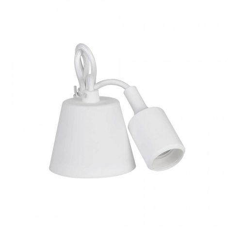 Colgante De Silicona E27 60W Blanco (98.4 Cm) - NEOFERR
