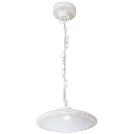 COLGANTE IP44 PERGOLA LED 7.5 BLANCO CALIDO - 3000K BLANCO 533 - Forlight