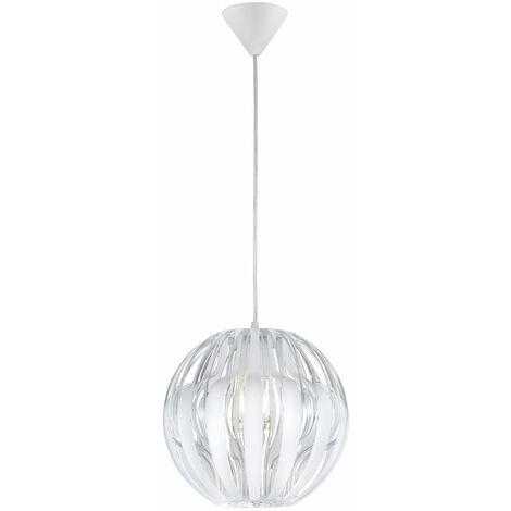 Colgantes habitaciones lámpara de techo lámpara Globo blanco de ángulo en conjunto incluyendo lámparas LED
