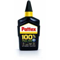 Colla 100% universale Pattex Super Forte trasparente 50 gr