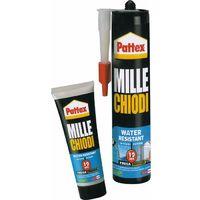 Colla Adesivo di Montaggio Millechiodi Water Resistant colore Bianco 100 Gr in Tubetto