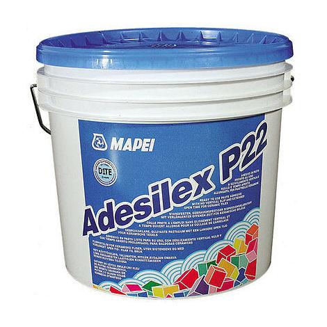 Colla adesivo in pasta per piastrelle ceramiche mattoni adesilex p22 mapei kg 12
