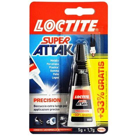Colla Super Attak Loctite liquida Precision 5 + 1,7 gr