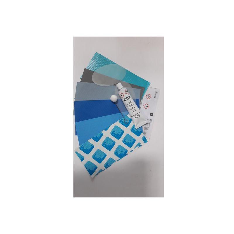 Collante Professionale E Toppe Di Riparazione Intex Per Piscine E Materassini In Pvc 510811410bis