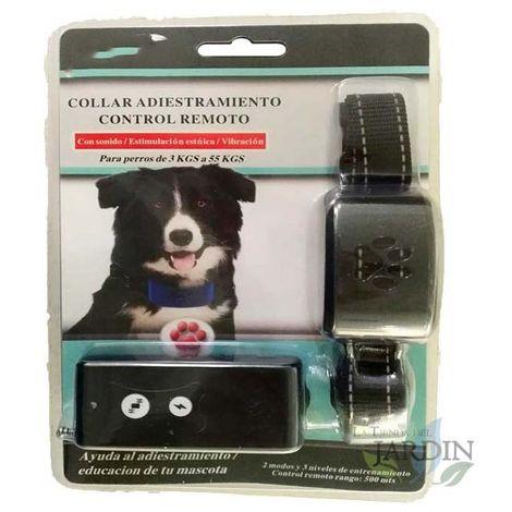 Collar adiestramiento canino por control remoto