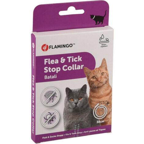 collar antiparasitario para gatos de 38 cm. Pulgas y garrapatas BATALI.