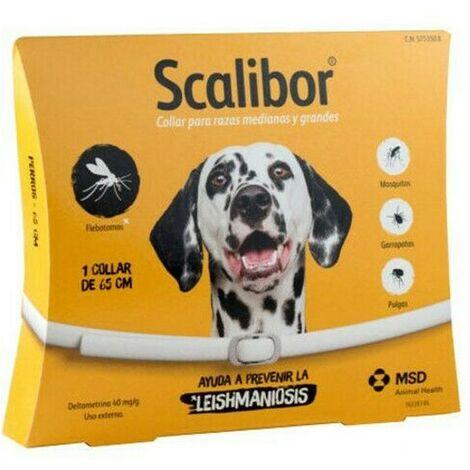 Collar antiparasitario Scalibor 65 cms | Collar contra pulgas y garrapatas para perros | Collar anti-pulgas