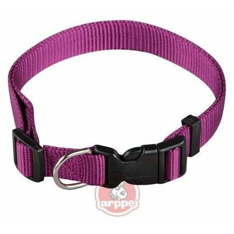 Collar ARPPE NYLON BASIC MORADO 23-47 CM