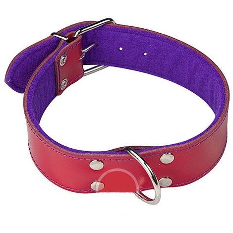 Collar Cuero Perro Granate/Pur 550X40 Mm - ARPPE - 2156015593