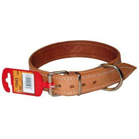 Collar cuero y nylon 75/_/4