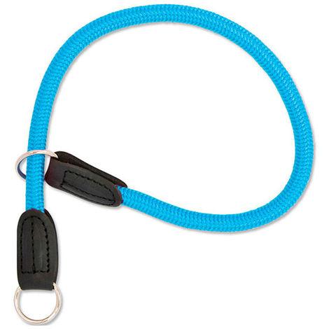 Collar de entrenamiento de perro | Collar de nailon para perro | Collar nailon azul 60 cms