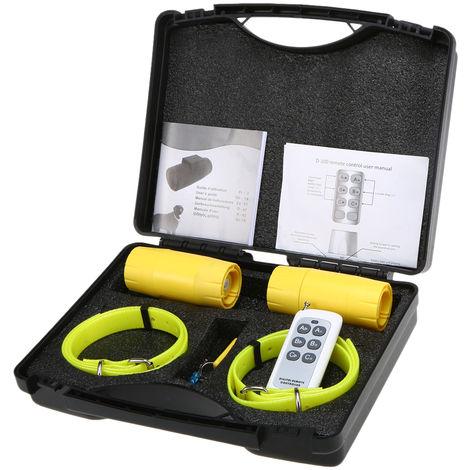 Collar de entrenamiento Repelente de Agua para perro Beeper Pequeno Mediano Grande Perros, 2 perro buscapersonas, con Control Remoto