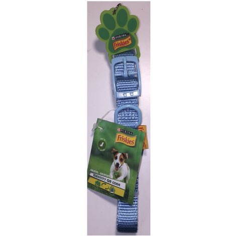 Collar de perro azul claro - Talla XS-S 25-40cm - C