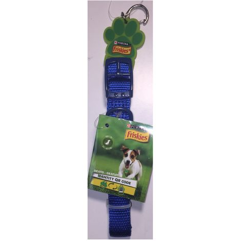 Collar de perro azul - Talla XS-S 25-40cm - C