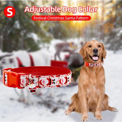 Collar de perro Santa Claus, L