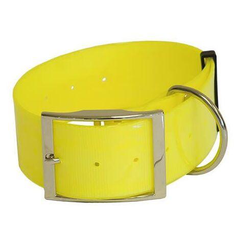 Collar de Poliuretano para perros, resistente ideal para perros fuertes o de caza, disponible en varias medidas y colores.