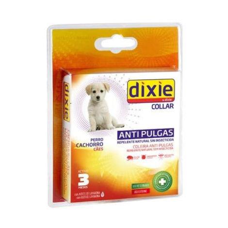 Collar DIXIE para cachorros anti pulgas, garrapatas y mosquitos