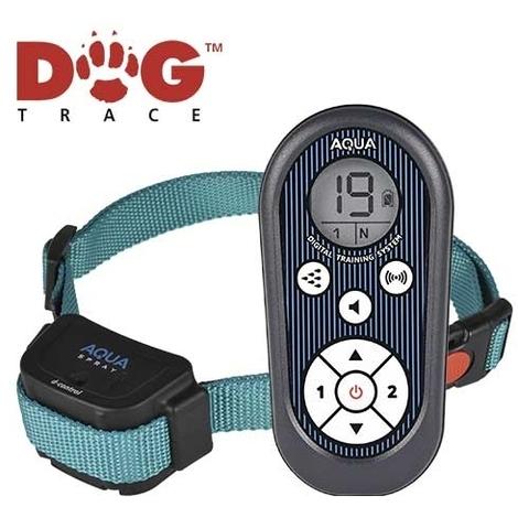 Collar Educativo para perros de Spray Dogtrace Aqua Spray disponible en varios alcances 300 y 900 metros.