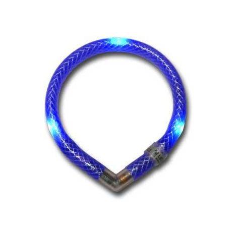 Collar luminoso mini leuchtie azul