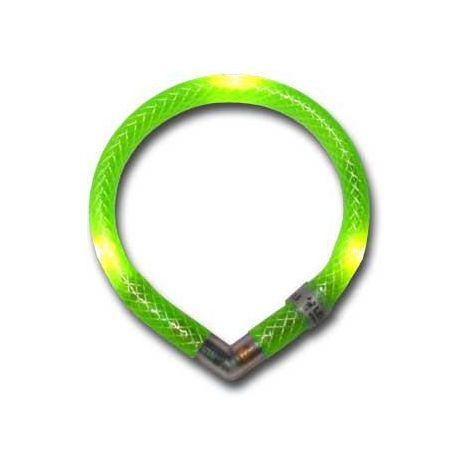 Collar luminoso mini leuchtie verde