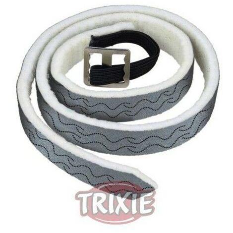 Collar Natural, Perros Grandes, 56 cm, Plata/Ng
