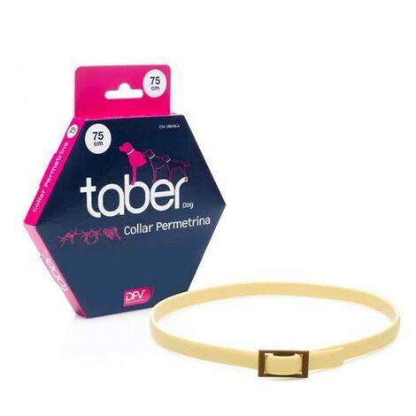 Collar permetrina Taberdog 75 cms | Collar contra pulgas y garrapatas para perros | Collas anti-pulgas