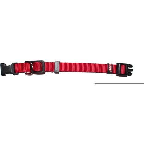 Collar Regulable Nylon Rojo - ARPPE - 2240014501 - 45 CM