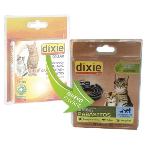 Collar repelente DIXIE para gatos y gatitos anti pulgas, garrapatas y mosquitos