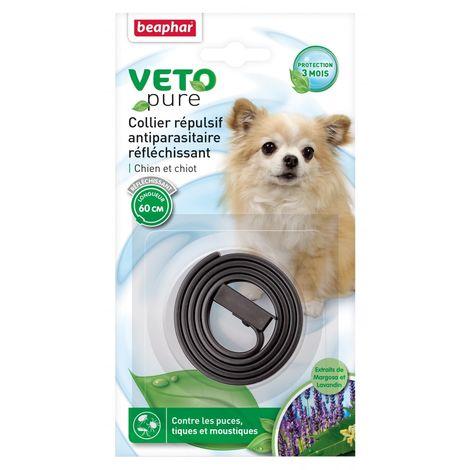 Collar Repelente y Reflectante para Perros - 60 cm