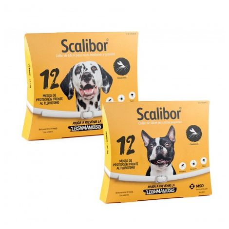 Collar Scalibor 12 Meses S/M (48cm)