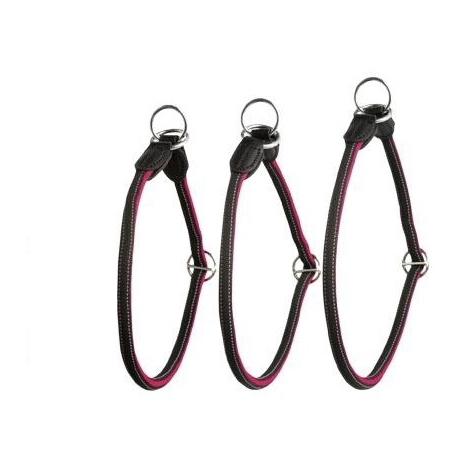Collar y Redondo Reflectante Rojo y Negro disponible en varias opciones