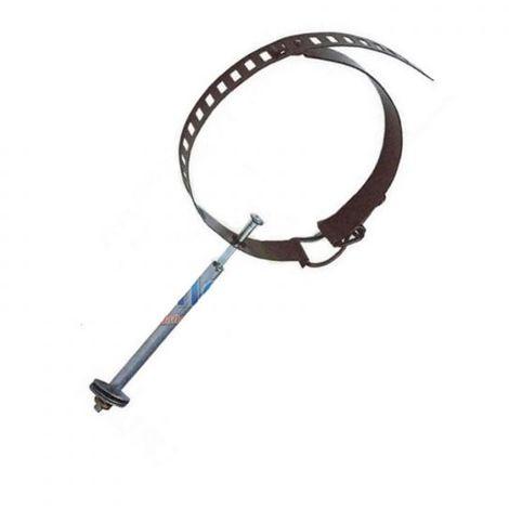 collare di giunzione Ø 8 cm acciaio inox stufa stufe a pellet stringitubo