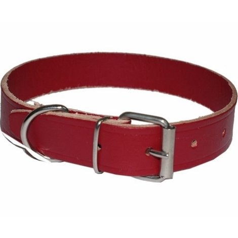 Collare Per Cane In Cuoio Taglia Grande Misura 350x14 Mm 22130