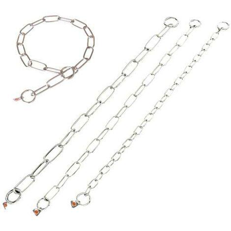 Collares inoxidables de cadena disponible en varias opciones