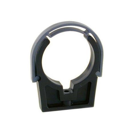 Collarín de clip MAREVA para PVC a presión - D50 - 904051 - Gris