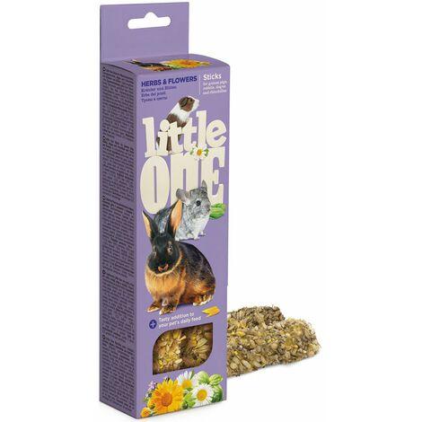 Collations cuites aux herbes et aux fleurs pour les cochons d'Inde, les lapins et les chinchillas