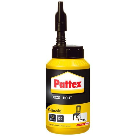 Colle à bois Classic PATTEX - bib 250g - 1419247
