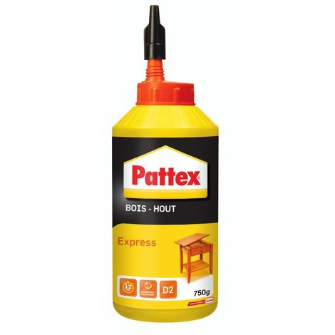 Colle à bois Express PATTEX - bib 750g - 1419264