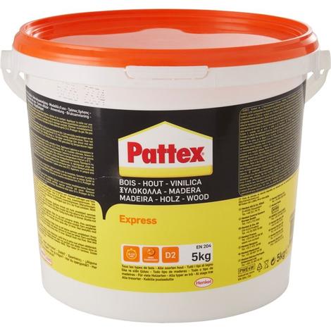 Colle à bois Express PATTEX - seau de 5kg - 1419265