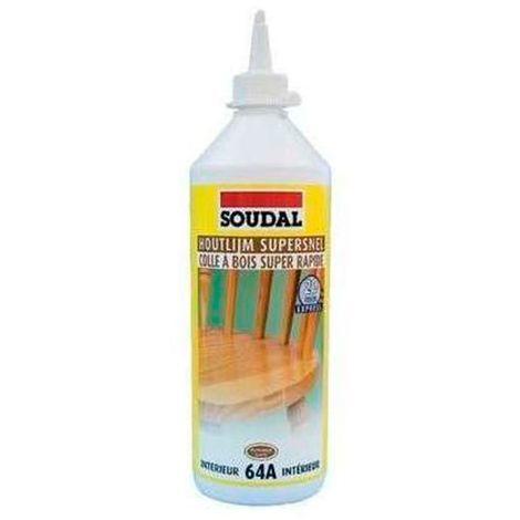 Colle à bois rapide D2 750GR - 100056 - Soudal