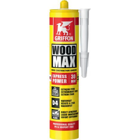 Colle à bois sans solvant, sans PU, 380g, WOOD MAX EXPRESS